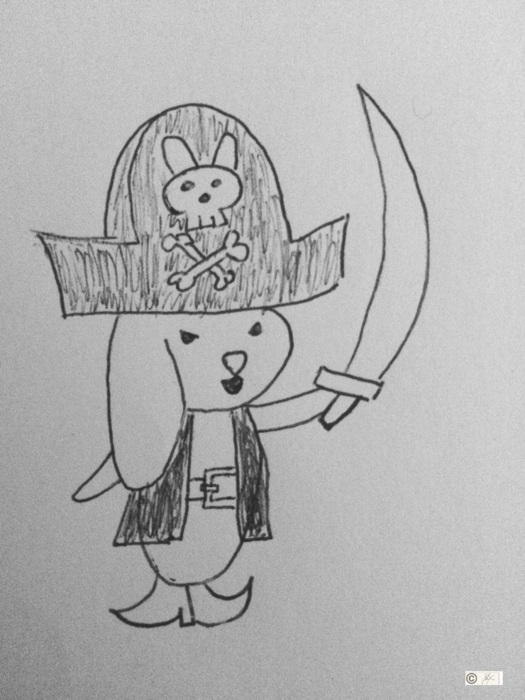 bunny pirate