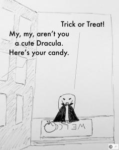 bunny bunreal halloween trick or treat carrot candy cash debit credit card dracula