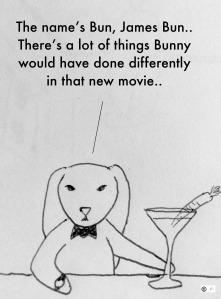 James bun james bond spectre bunny bunreal carrotini martini